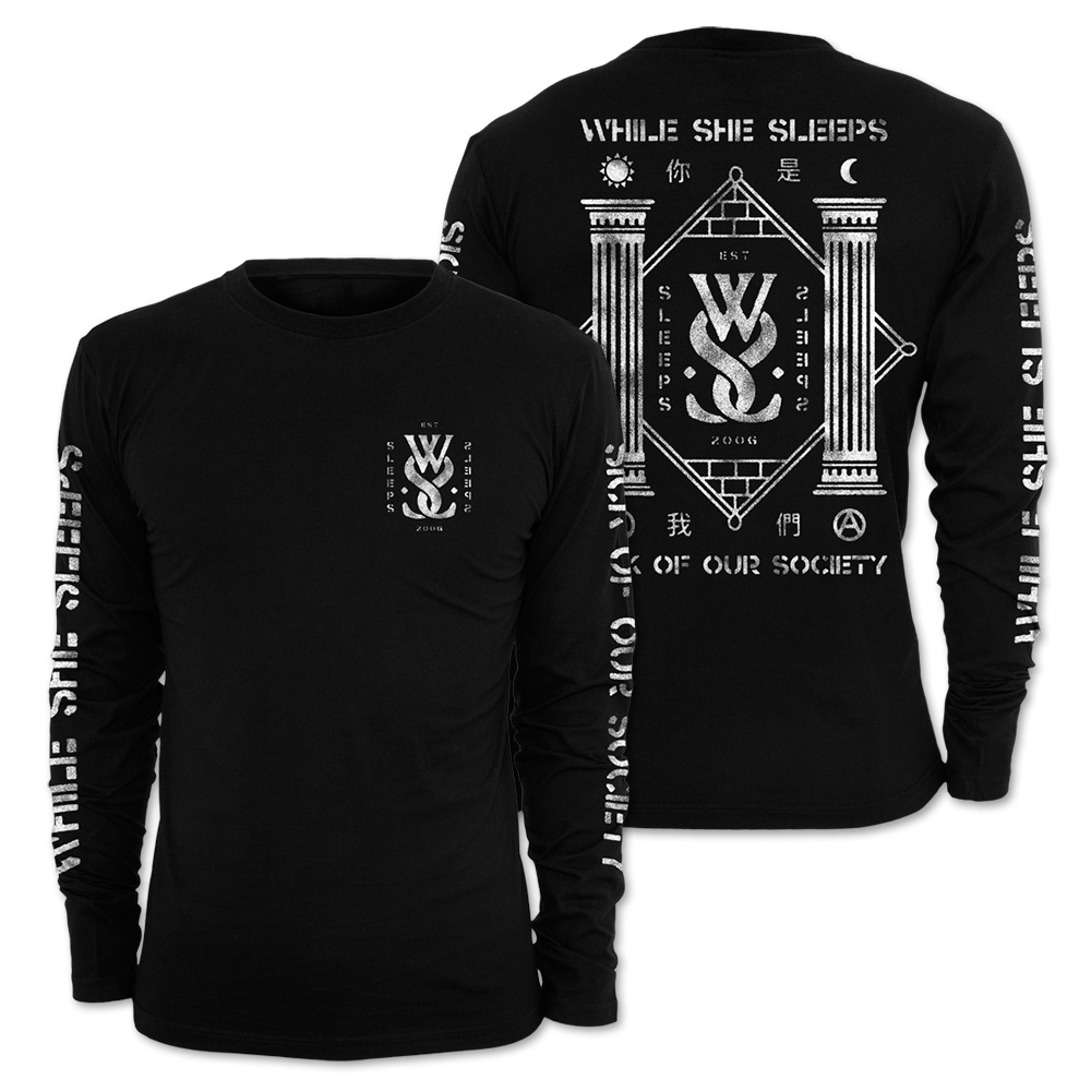 While She Sleeps - Sick Of Our Society (Longsleeve)