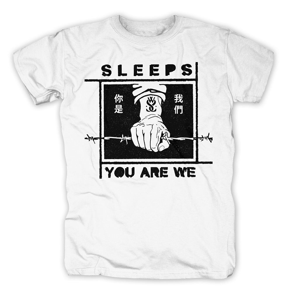 While She Sleeps - Fist N Wire (White)