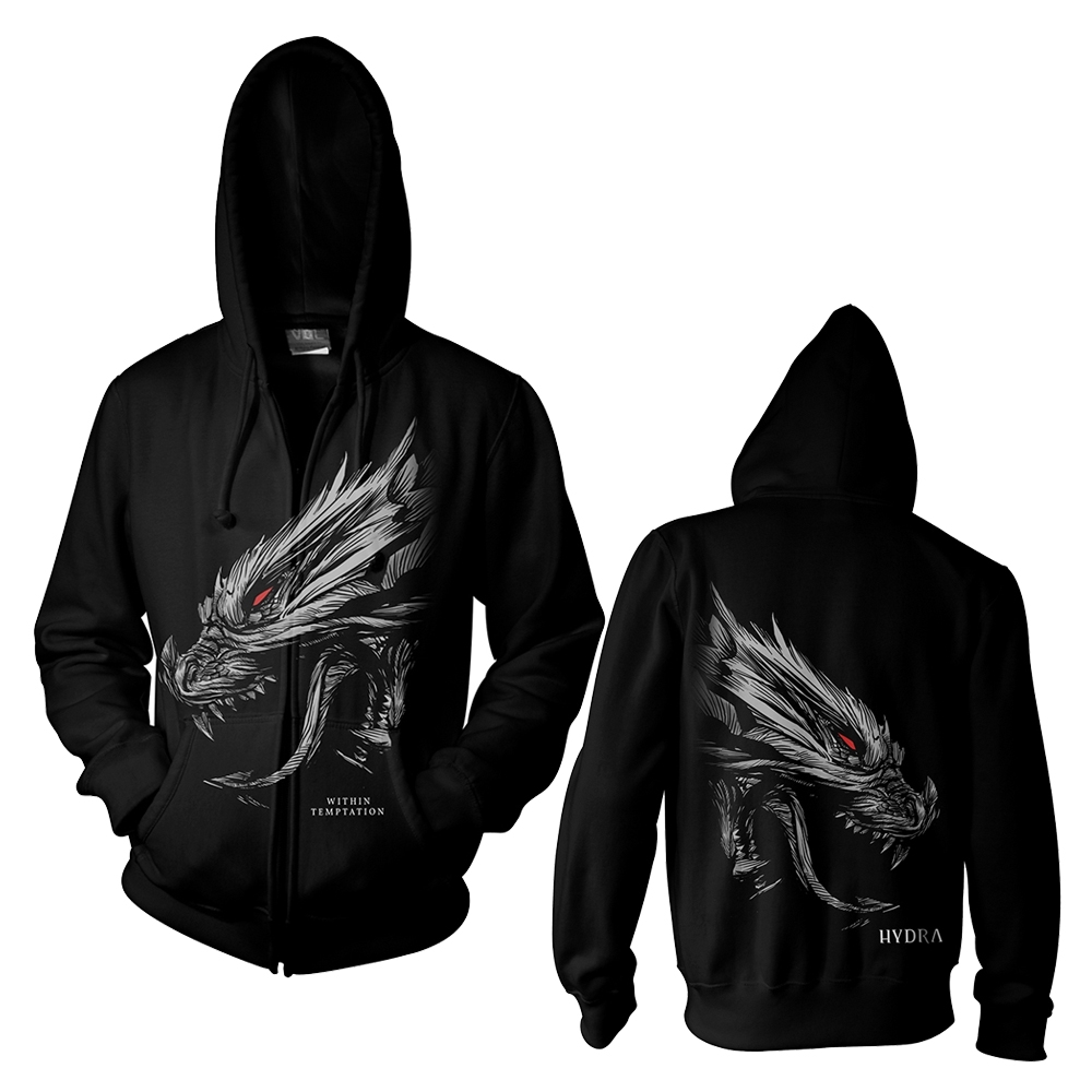Within Temptation - Hydra Head (Zip Hoodie)