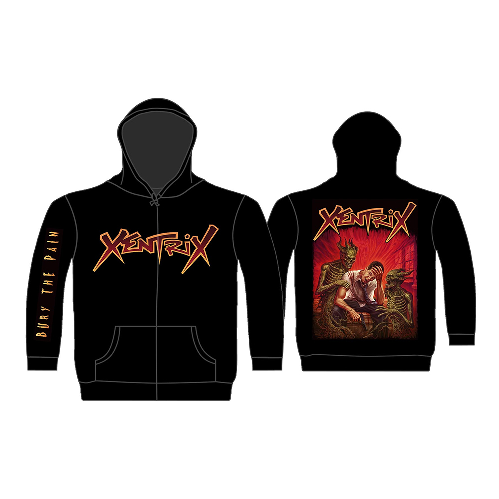Xentrix - Bury The Pain (Zip Hoodie)