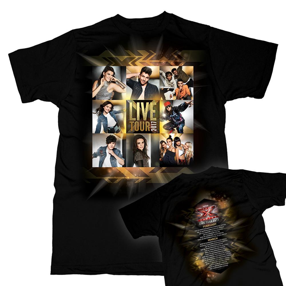 Olly murs black t shirt x factor - T Shirts 6 Items The X Factor