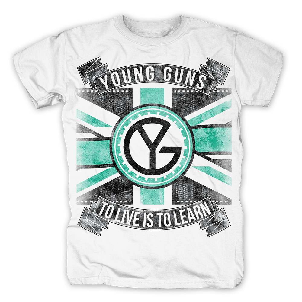 Young Guns - Flag (White)