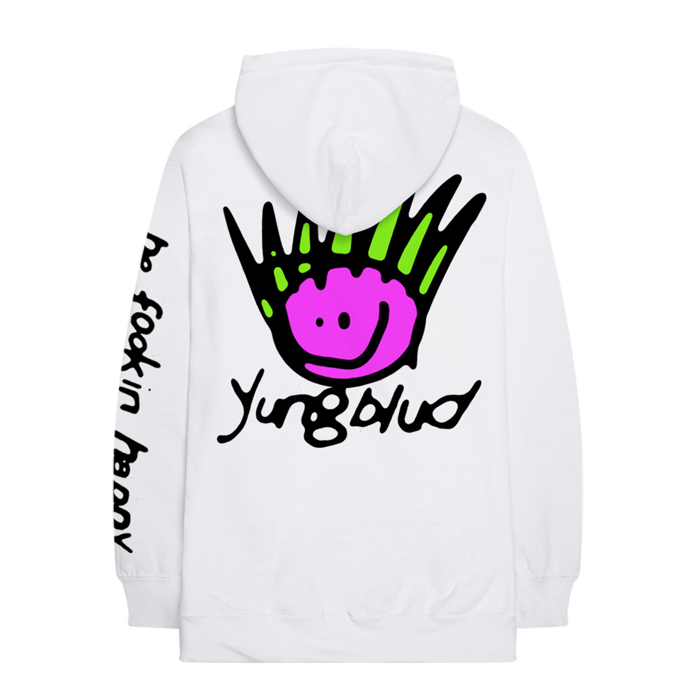 Yungblud - Be Happy (White Hoodie)