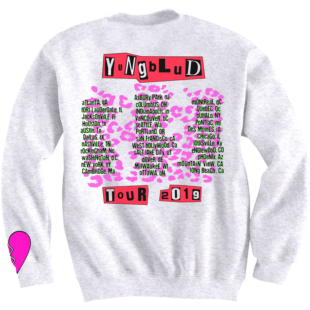 Yungblud - Tour (Back & Arm Print)