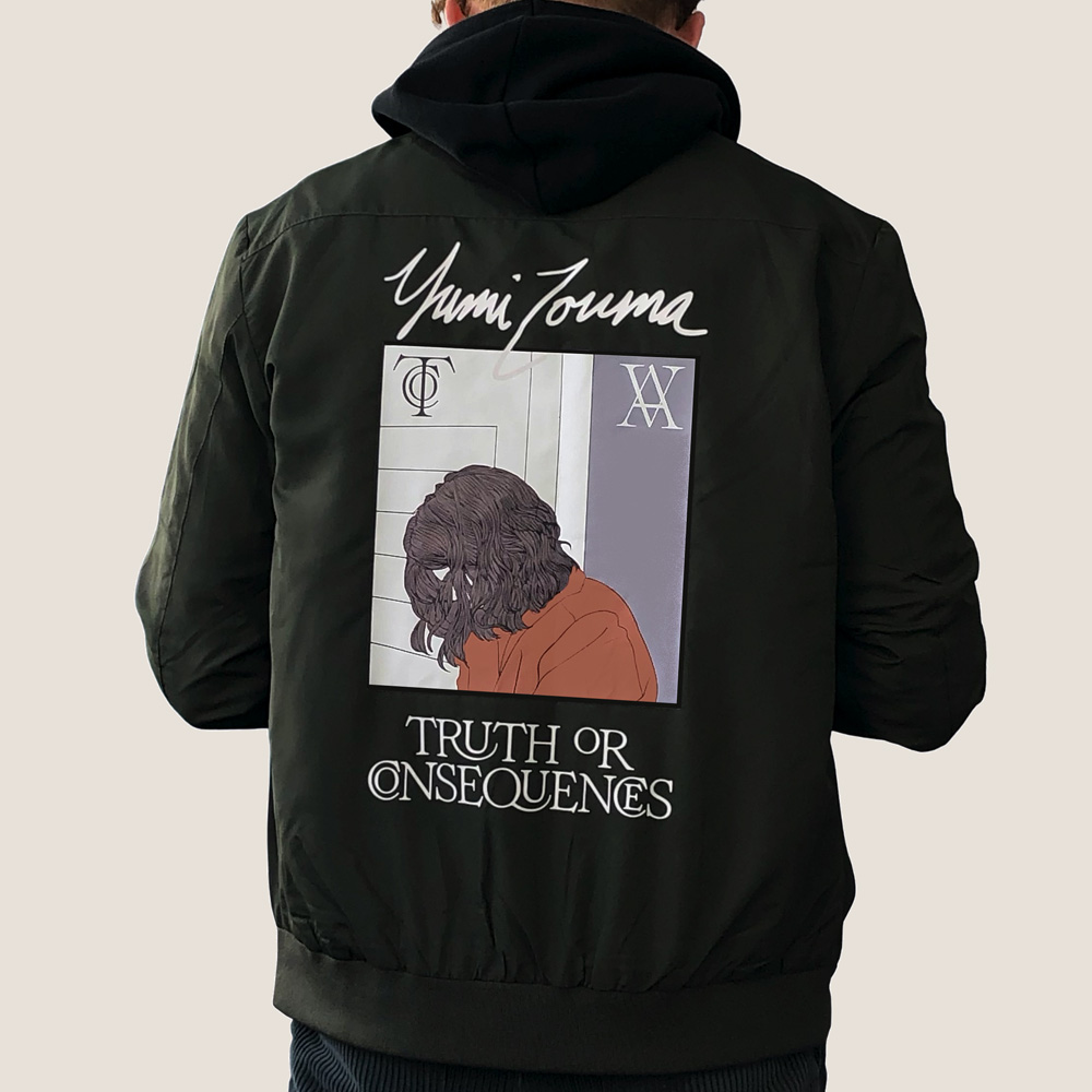 Yumi Zouma - Truth or Consequences Bomber Jacket