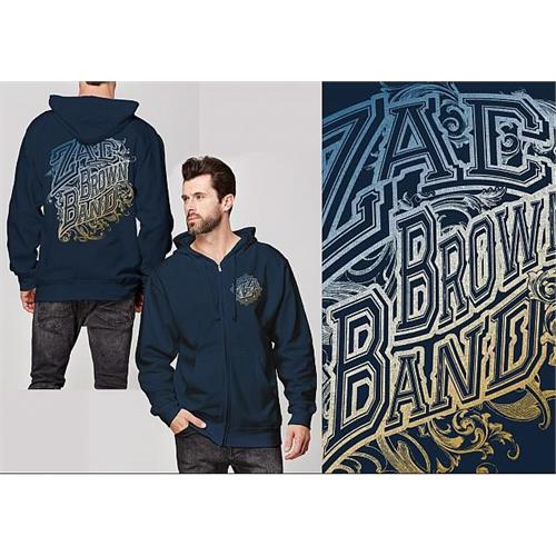 Zac Brown - Logo (Navy)