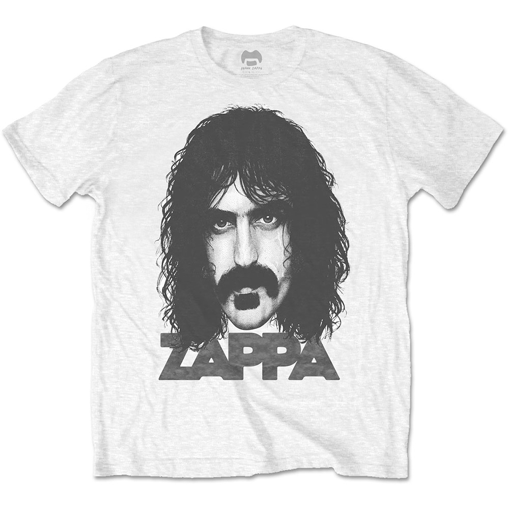 Frank Zappa - Big Face (White)