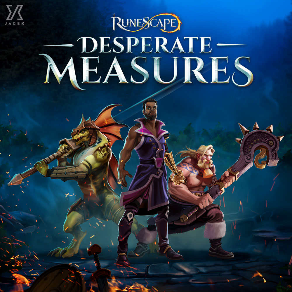 RuneScape - Desperate Measures Album Digital Download