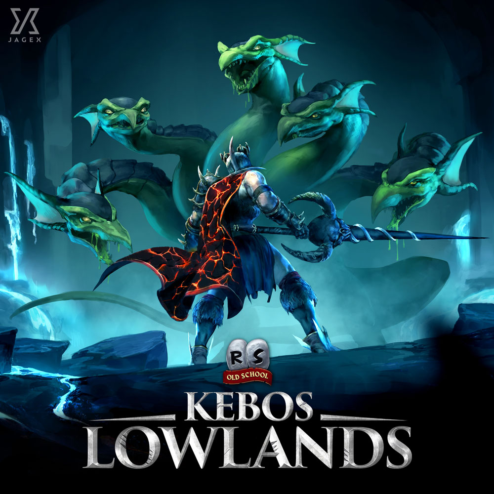 RuneScape - Kebos Lowlands Album Digital Download