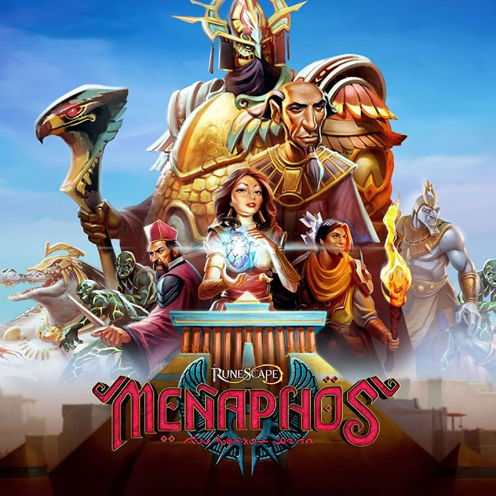 RuneScape - Menaphos Album Digital Download