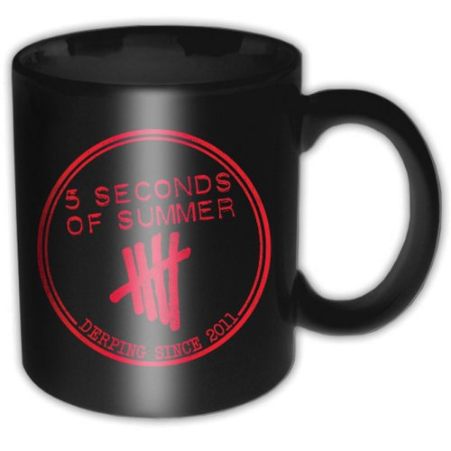 5 SECONDS OF SUMMER - Derping Stamp (Black)