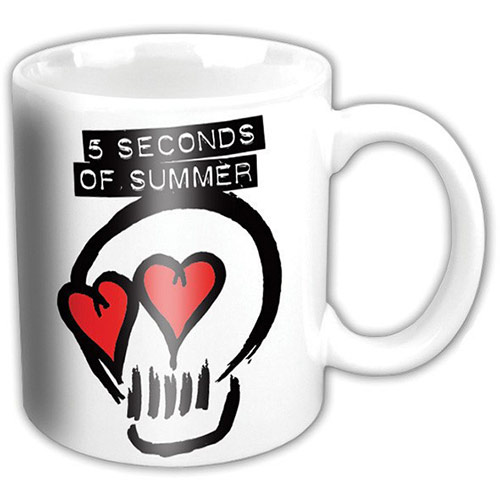 5 SECONDS OF SUMMER - Logo (White)