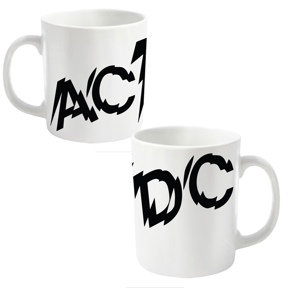 AC/DC - Powerage Logo (White Mug)