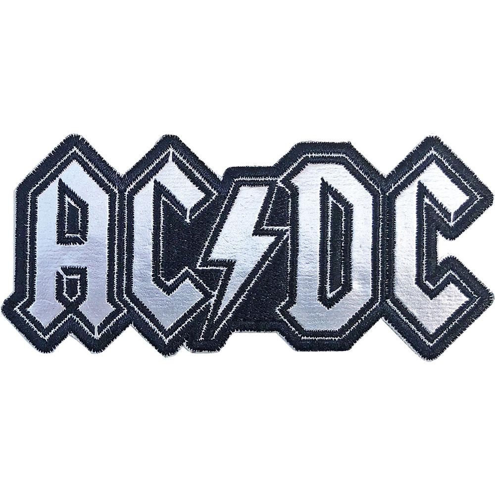 AC/DC - Cut-Out Foil Logo