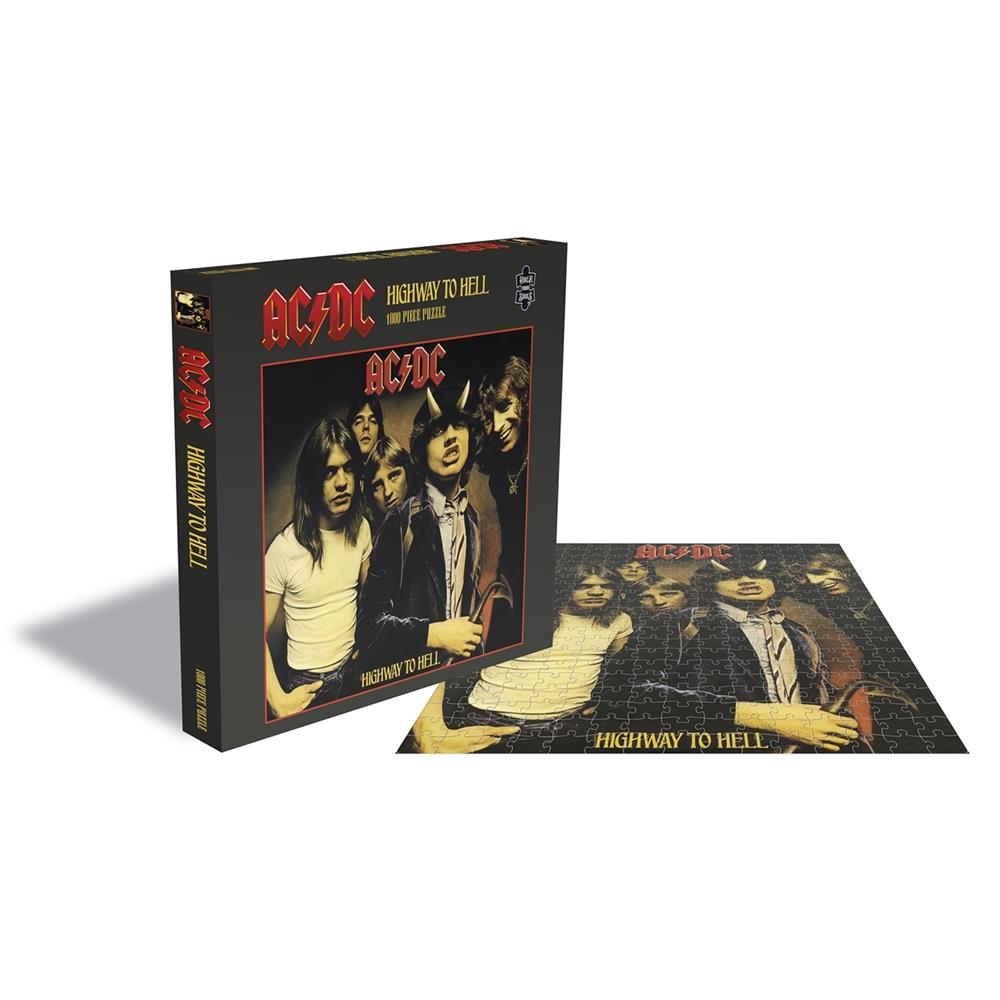 AC/DC - Highway To Hell (1000 Piece Puzzle)