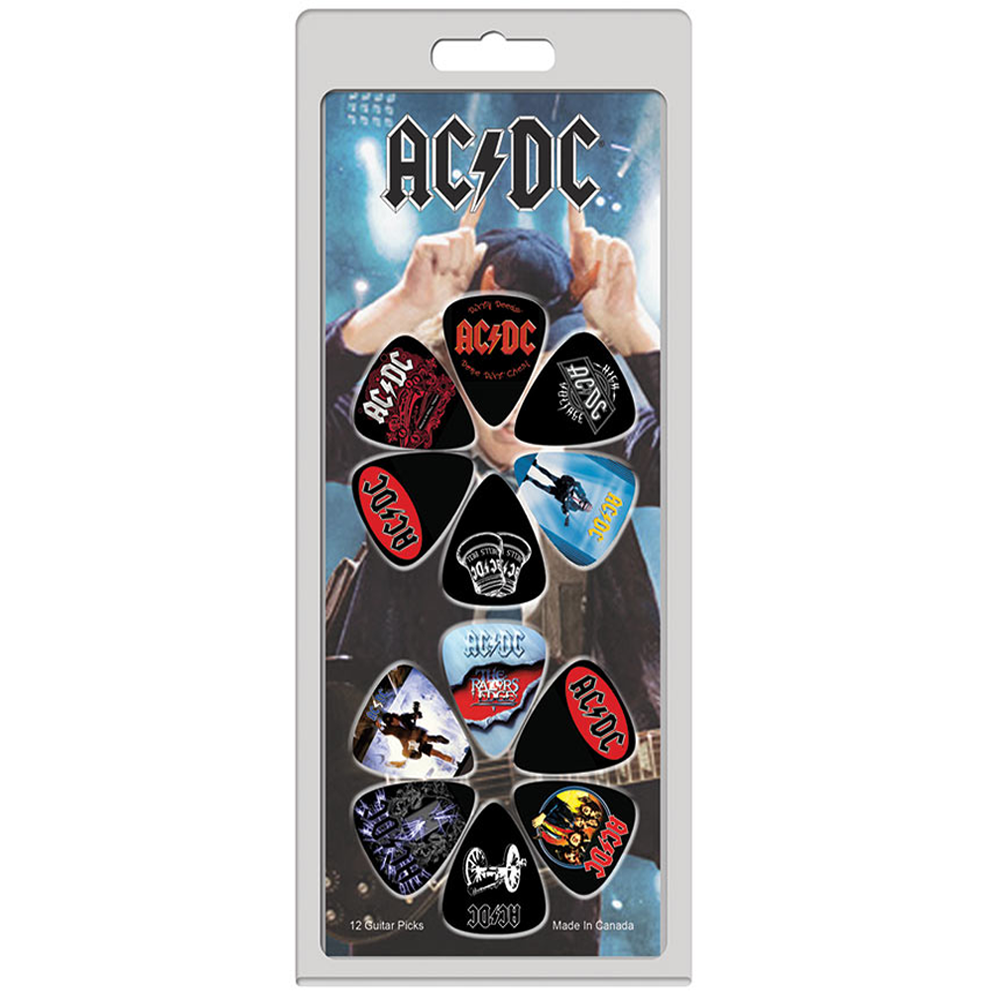 AC/DC - AC/DC 12 Pack Guitar Set