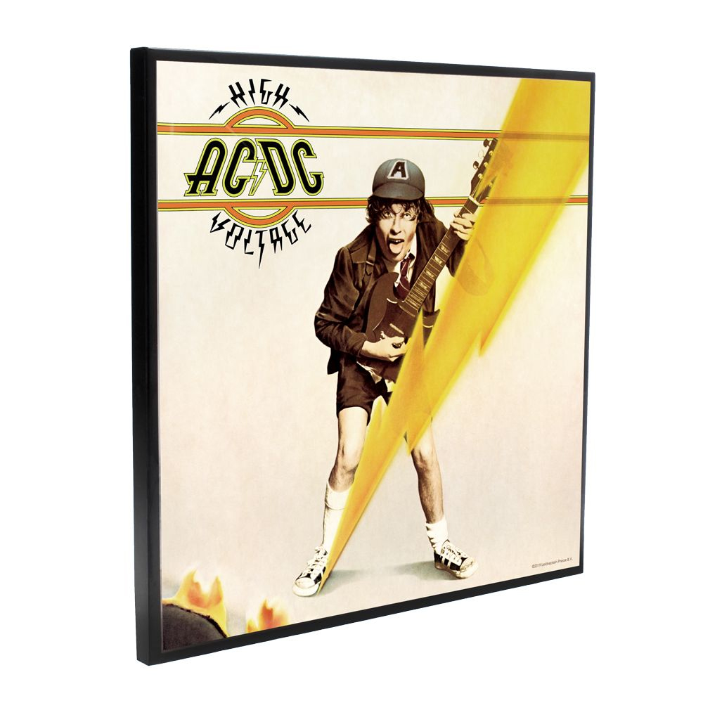 AC/DC - High Voltage Album Cover (Crystal Clear Wall Art)