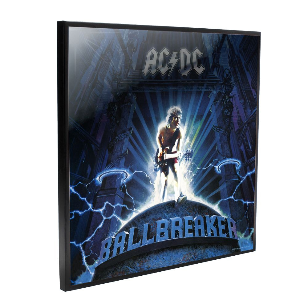 AC/DC - Ball Breaker Album Cover (Crystal Clear Wall Art)