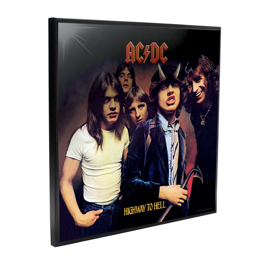 AC/DC - Highway to Hell Album Cover (Crystal Clear Wall Art)