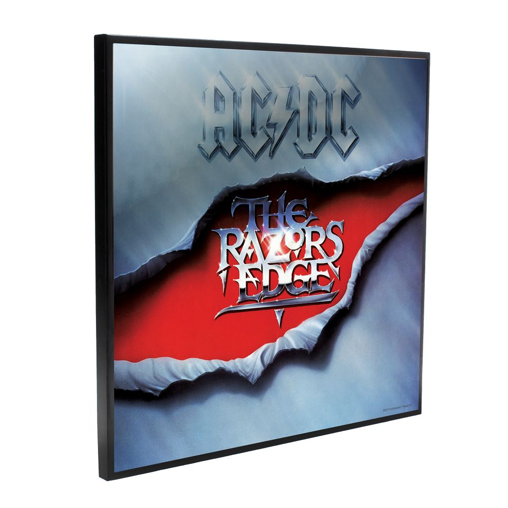 AC/DC - The Razors Edge Album Cover (Crystal Clear Wall Art)