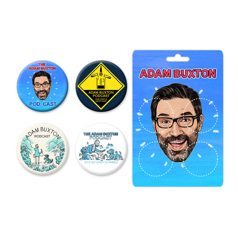 Adam Buxton Podcast - The Adam Buxton Podcast Badges