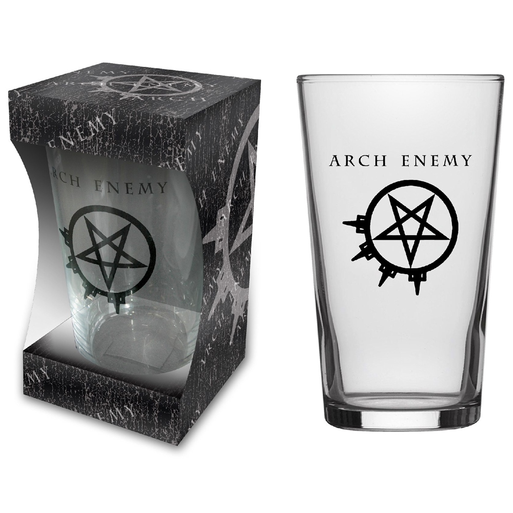 Arch Enemy - Logo (Beer Glass)