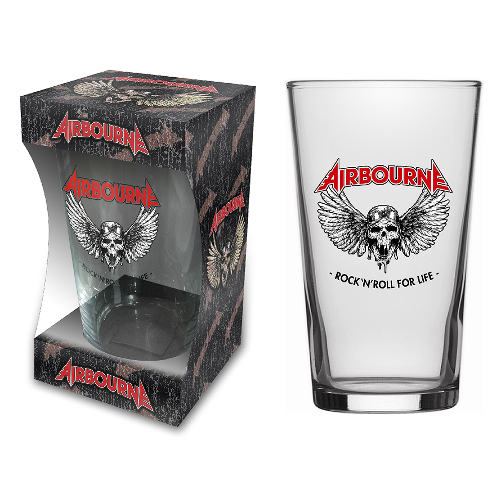 Airbourne - Rock 'N' Roll (Beer Glass)