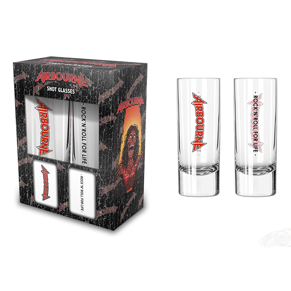Airbourne - Rock 'N' Roll For Life ( Shot Glasses)