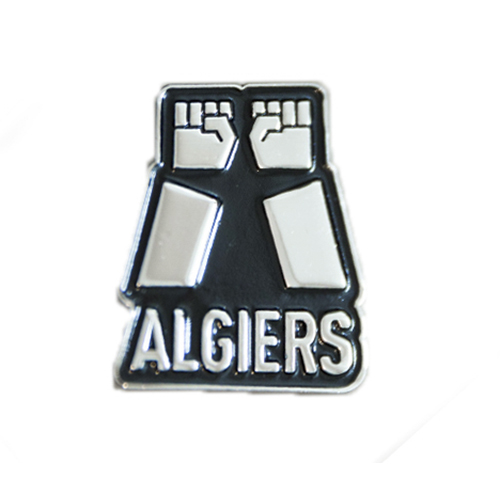 Algiers - Two Fists Enamel Pin