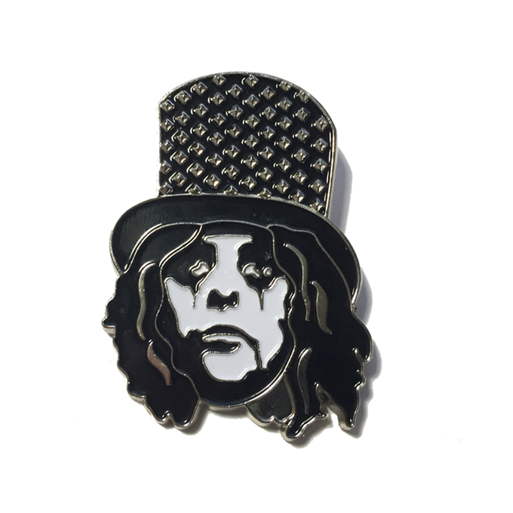 Alice Cooper - Studded Hat Pin