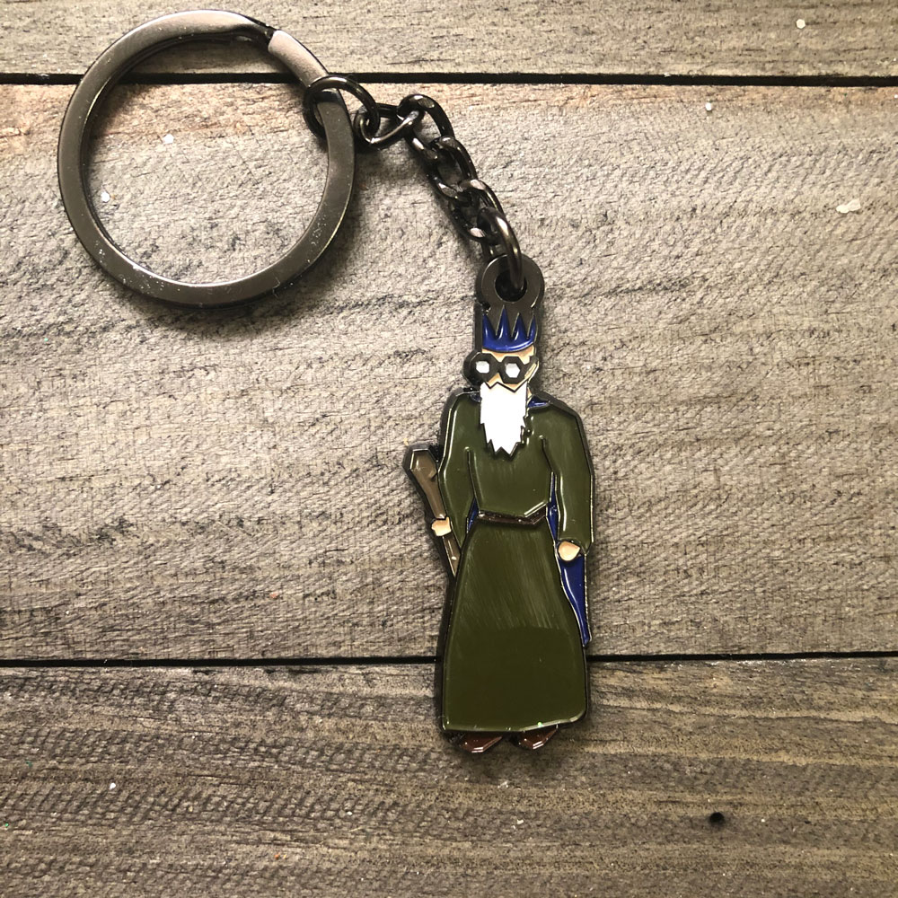 Angels Scapes - Wise Old Man Keyring
