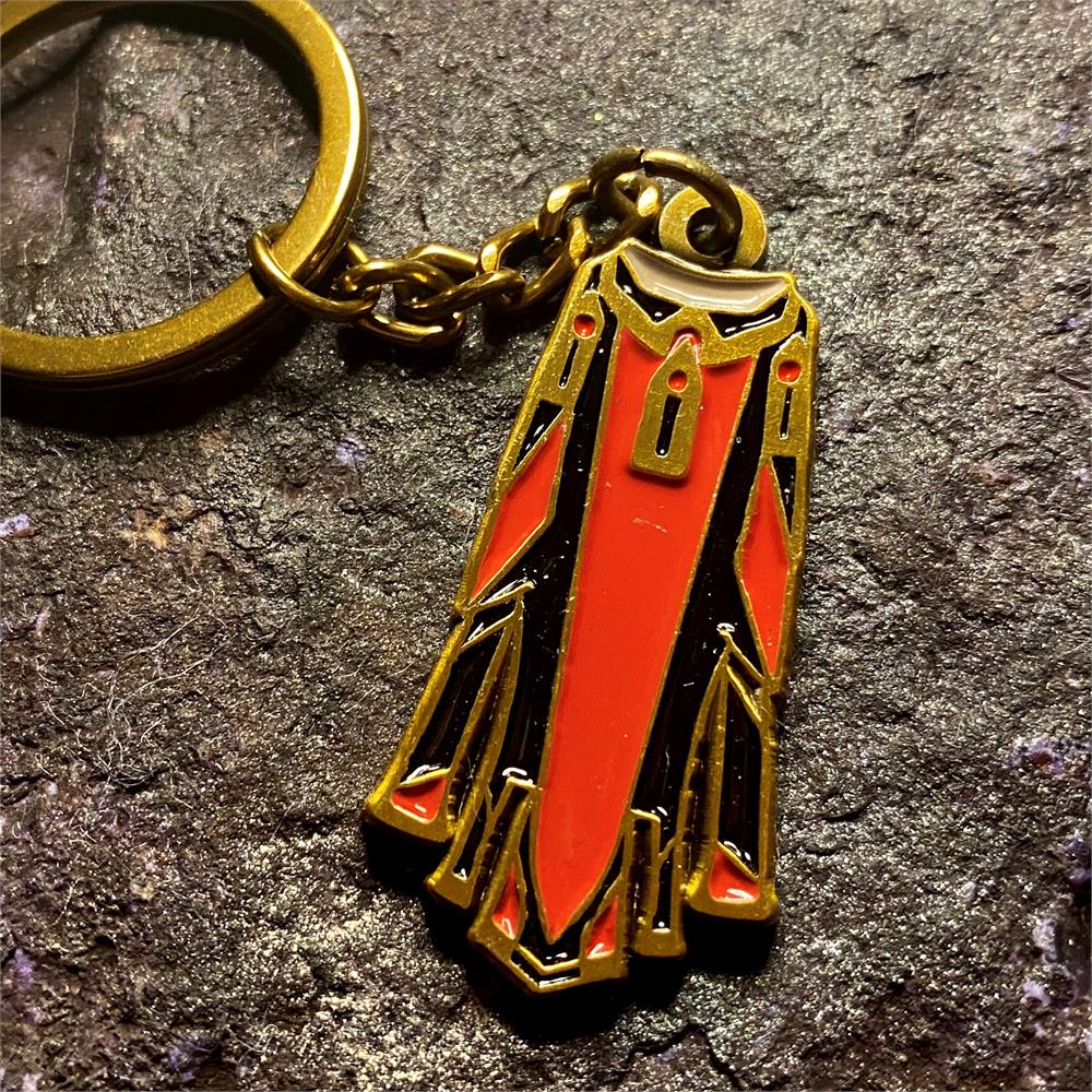Angels Scapes - Zamorak Max Cape Keyring