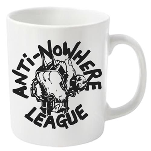 Anti Nowhere League - Logo (White)