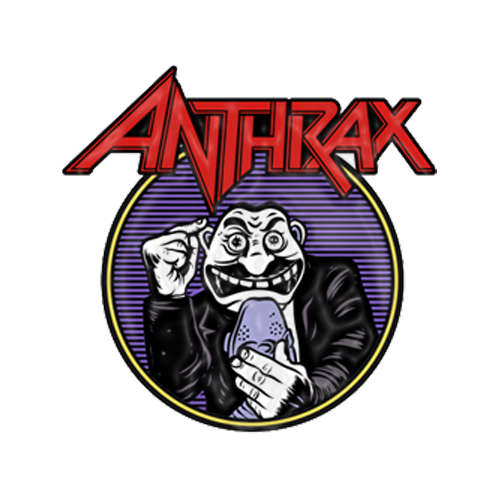 Anthrax -  Not Man Pin