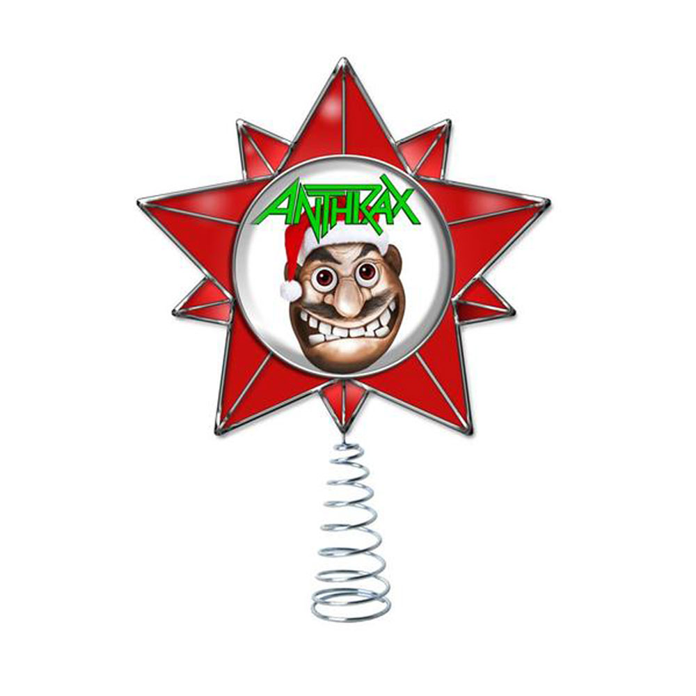 Anthrax - Xmas Tree Topper