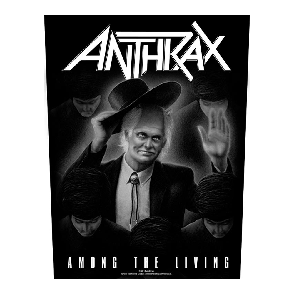 Anthrax - Among The Living Back Patch