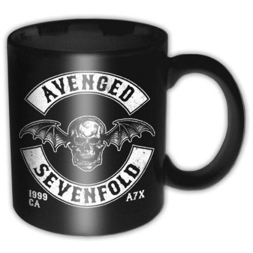 Avenged Sevenfold - Death Bat Crest (Black)