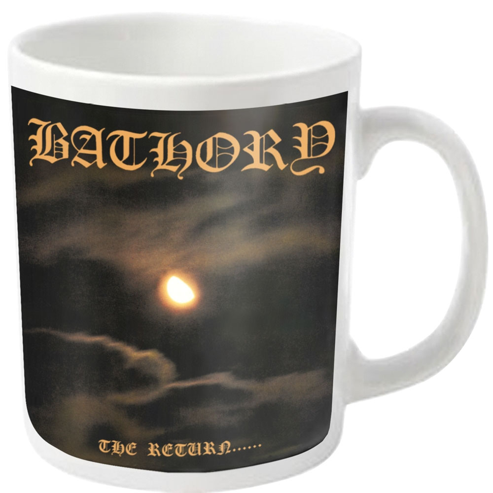 Bathory - The Return (White Mug)