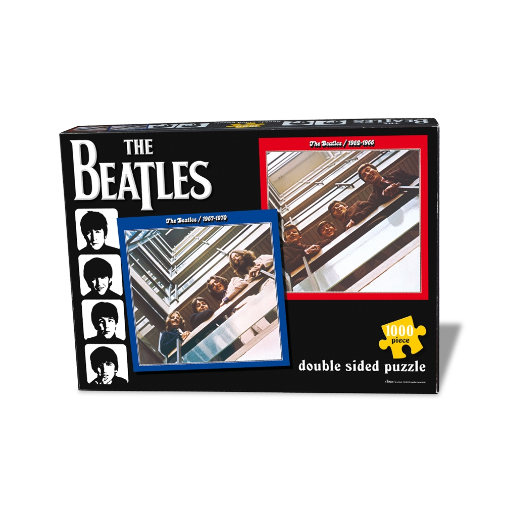 Beatles - Red & Blue Double (1000 Piece Jigsaw Puzzle)