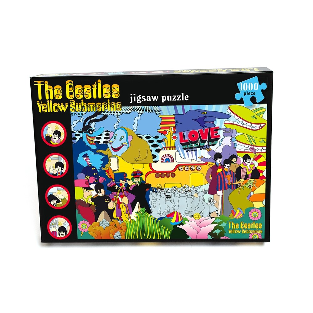 Beatles - Yellow Submarine (1000 Piece Jigsaw Puzzle)