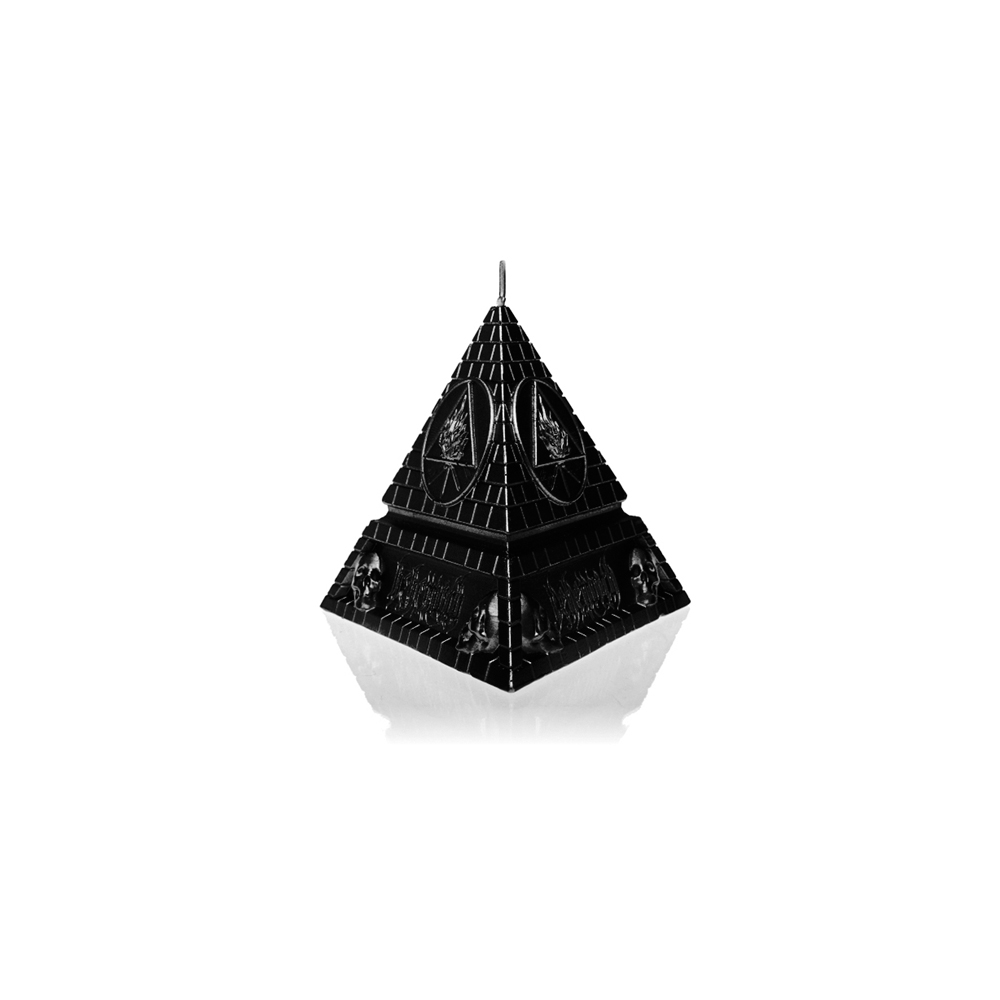 Behemoth - Unholy Trinity Pyramid - Black Metallic Candle