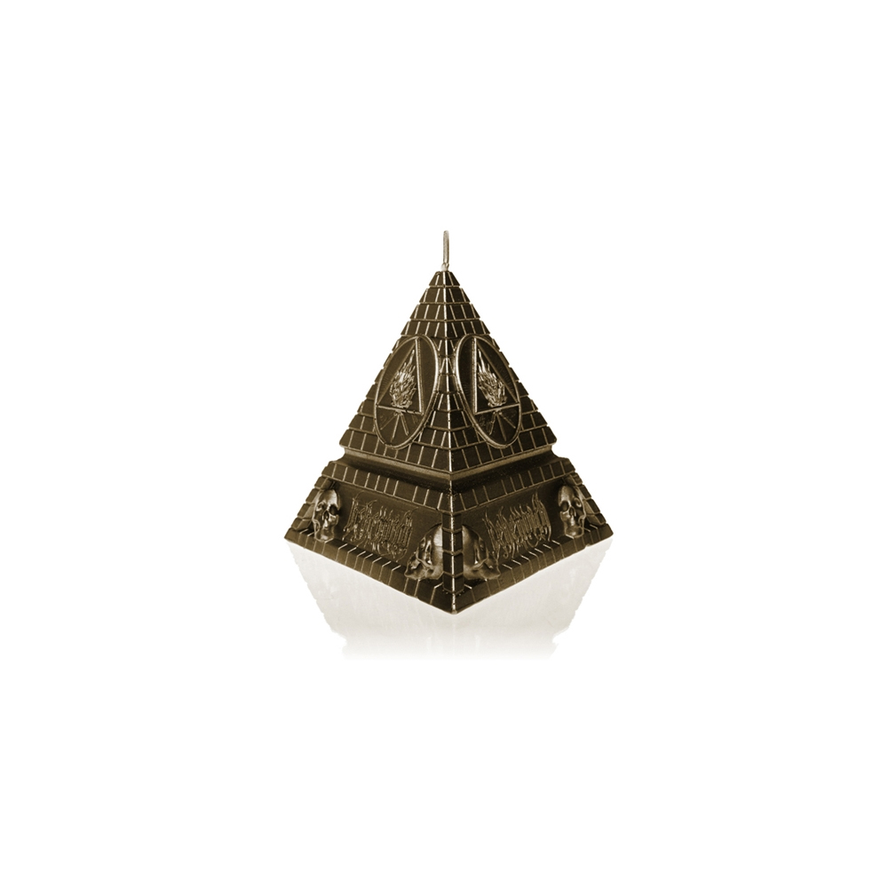 Behemoth - Unholy Trinity Pyramid  - Brass Candle