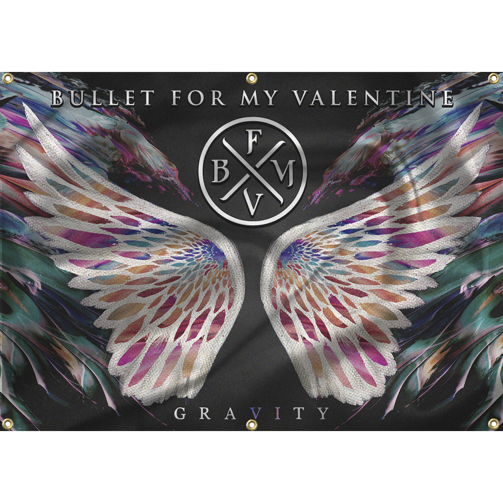 Bullet For My Valentine - Gravity Flag