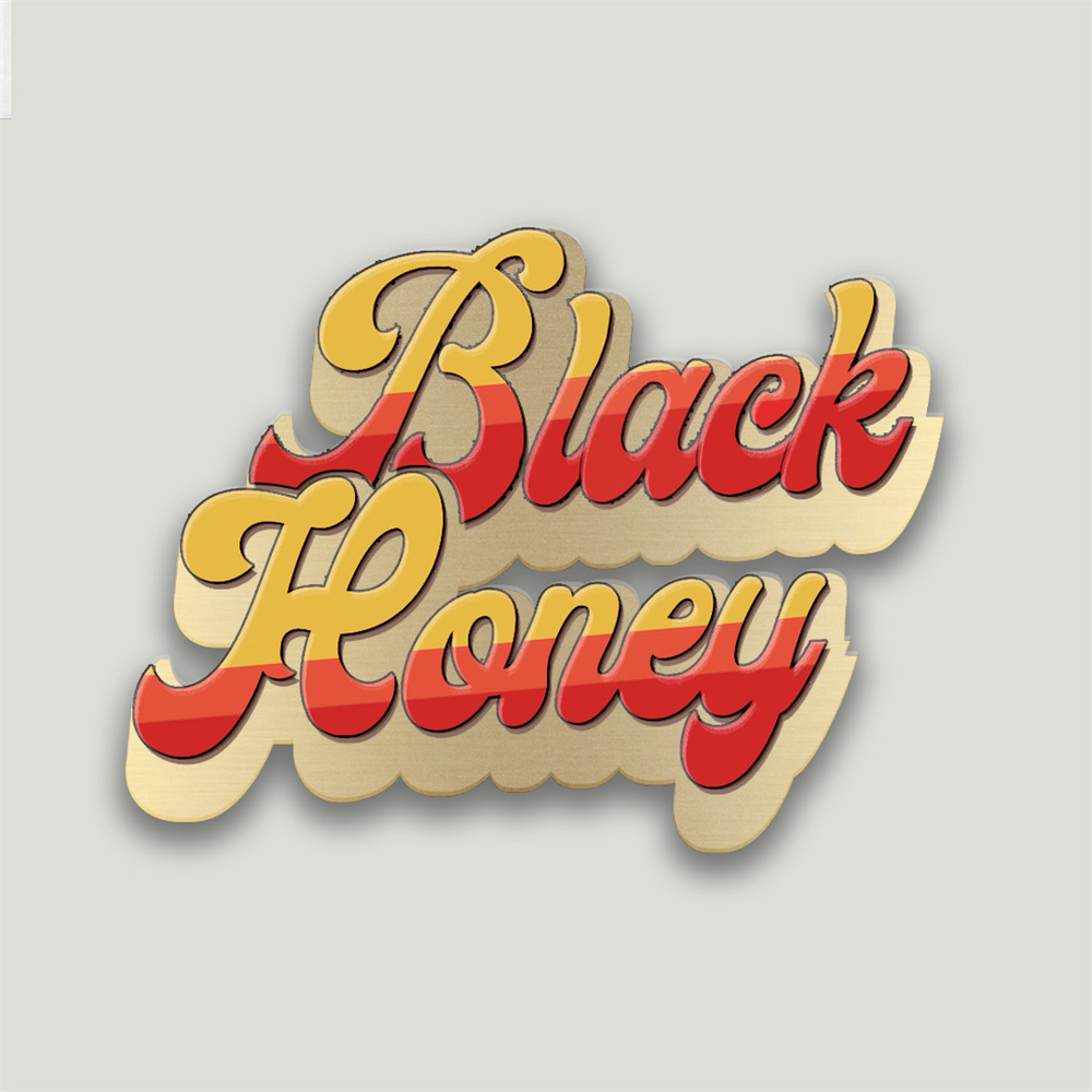 Black Honey - Enamel Pin