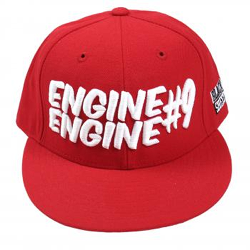 Black Sheep - Engine #9 - Flatbrim (Red)