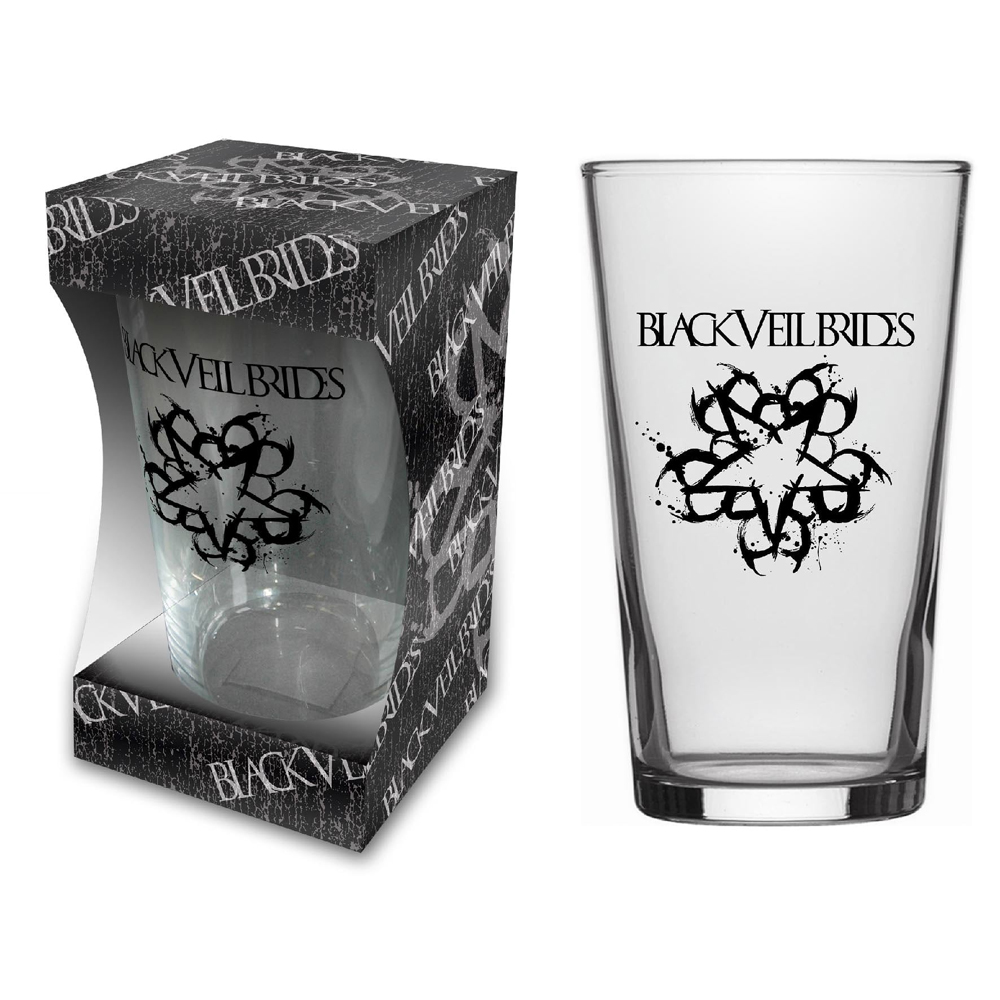Black Veil Brides - Logo (Beer Glass)