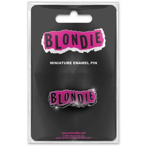 Blondie - Punk Logo (Mini Pin Badge)