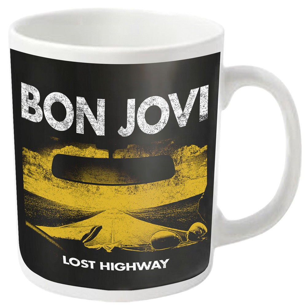 Bon Jovi - Lost Highway (White Mug)