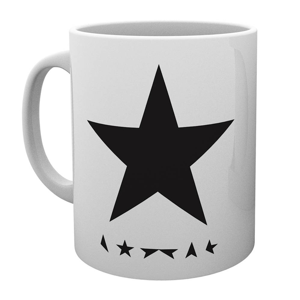 David Bowie - Blackstar (White Mug)