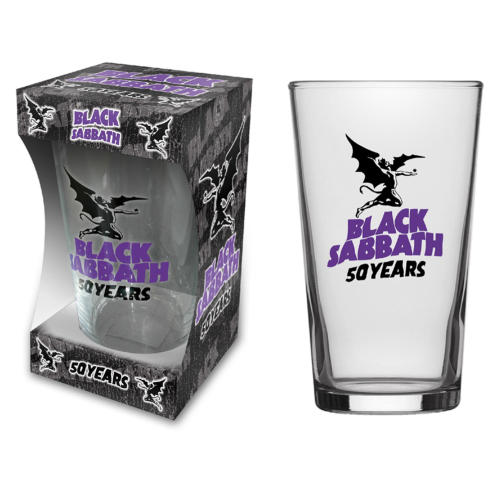 Black Sabbath - 50 Years (Beer Glass)